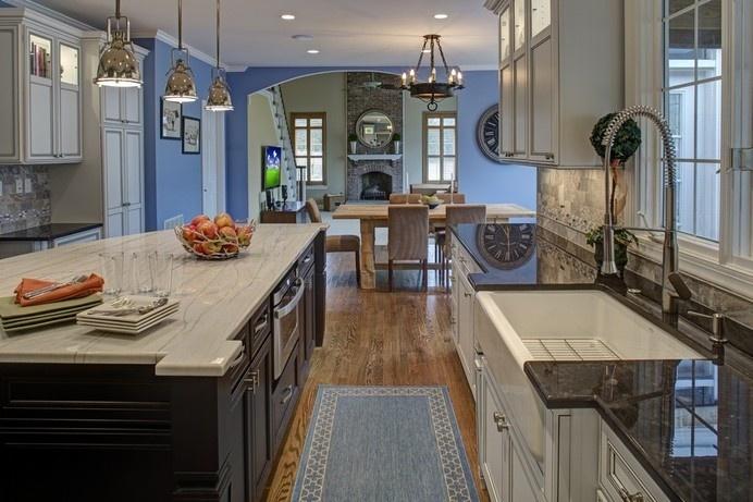 Builder Grade Kitchen Converted Into Top Of The Line Cooking Venue #interior #modern #design #decor #kitchen