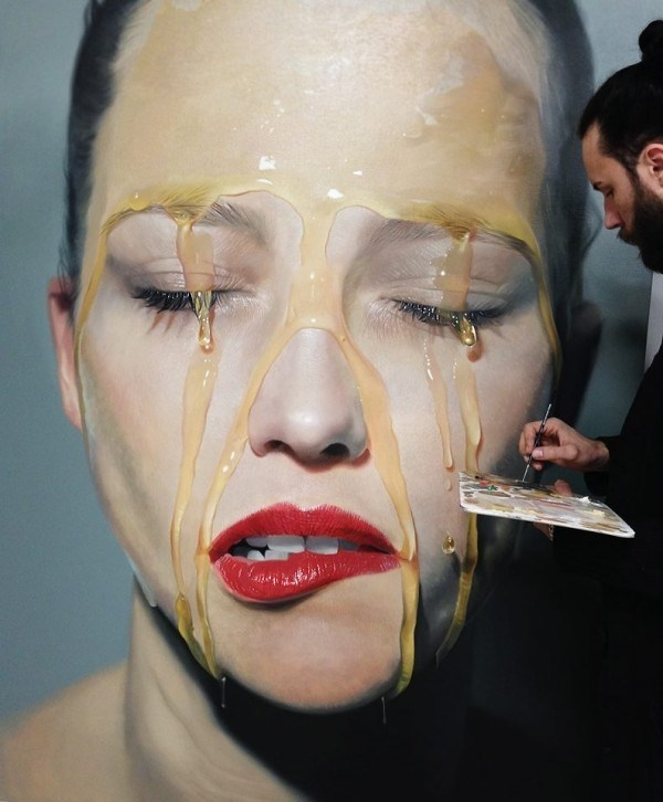 Mike Dargas   PICDIT #real #hyper #painting #art #artist