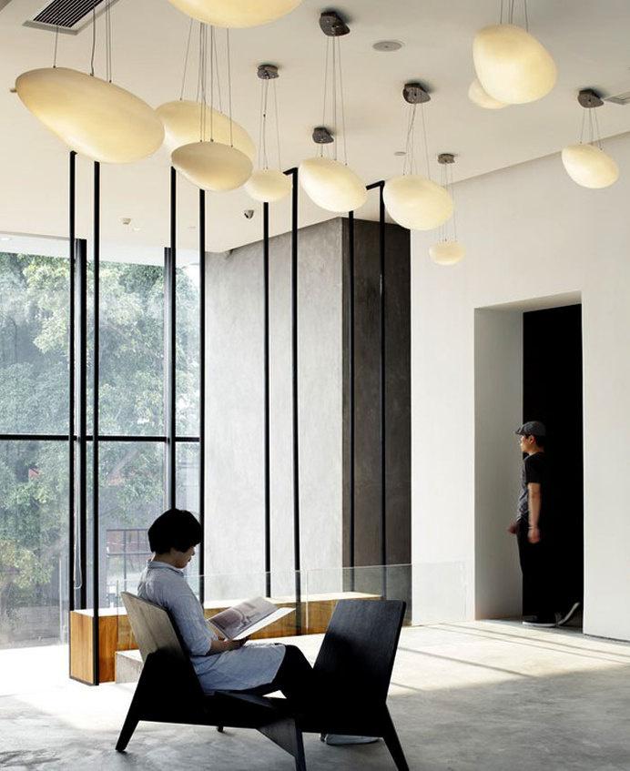 Contemporary Asian Elegance at Hotel Wind Decor #hotel #interior #minimalist #design