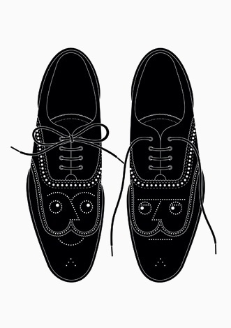 RINZEN . Double Glazed #illustration #shoes #faces