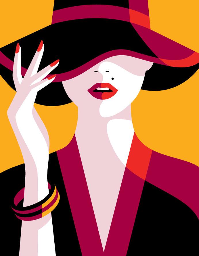 Vogue Japan - Malika Favre #colour
