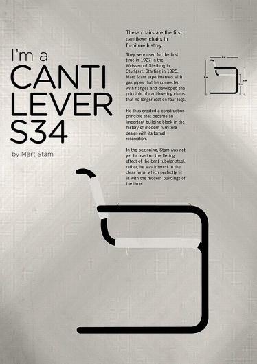 CHAIRS – A tribute to seats #s34 #mart #chairs #seats #stam #cantilever #tribute #poster #armchair #to