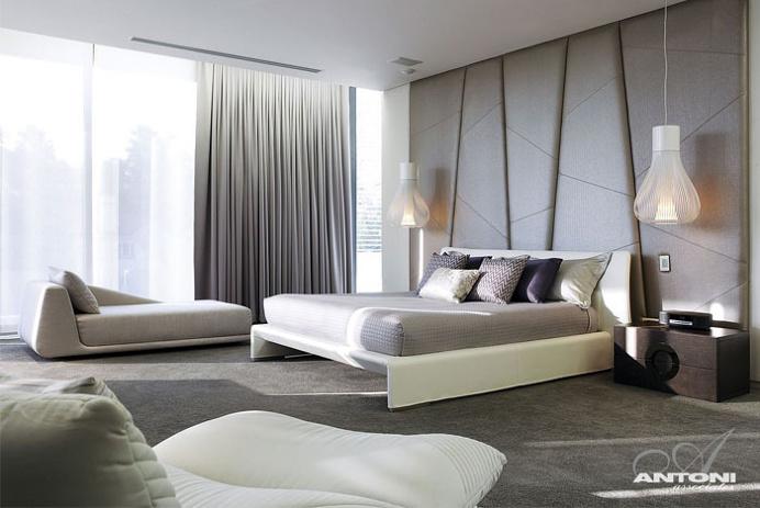 U-Shaped Modern Family Home by SAOTA - #decor, #interior, #homedecor, #architecture, #house, #home, #bedroom