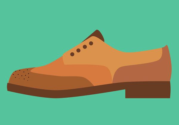Brogue Art Print by Michael Arnold   Society6 #arnold #michael #print #illustration #fashion #footwear