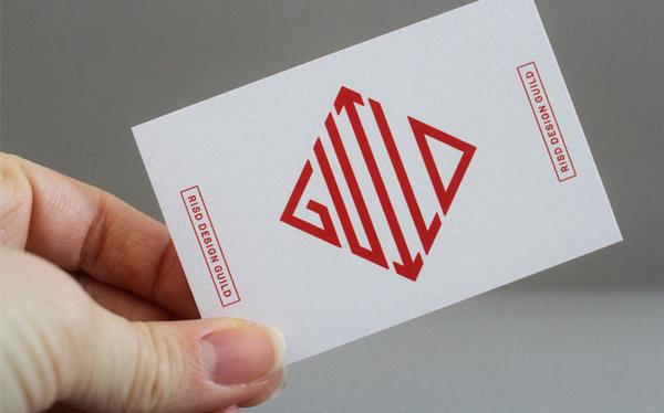RISD Design Guild Business Card #businesscard