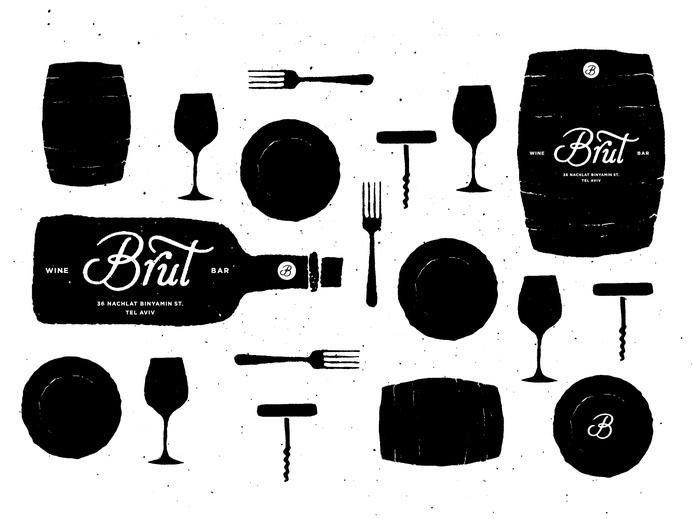 dan_alexander_brut_project41 #identity #bar #interior #restaurant #logo #layout #typography #wine #lettering
