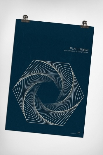 Futurism on the Behance Network #page #c #futurism #print #simon #poster
