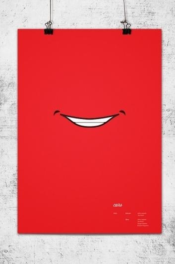 Pixar Minimal Posters on the Behance Network