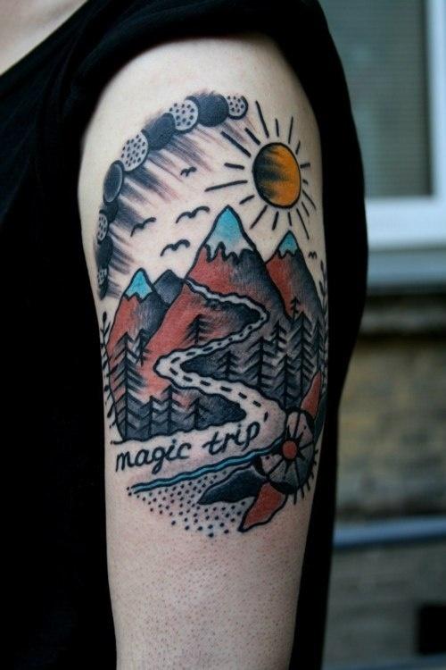x Gusak x Magic Trip #sun #mountain #roadtrip