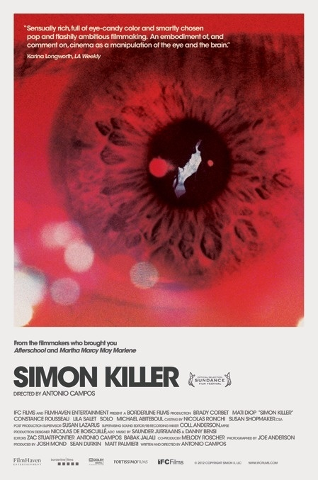 seekandspeak.com Made by Brandon Schaefer #poster #film #movie #eye #simon killer