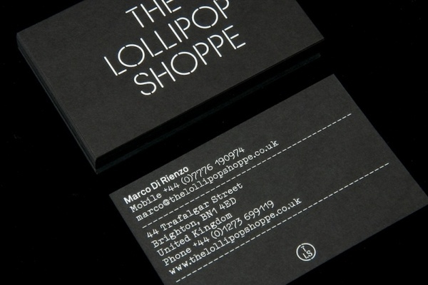The Lollipop Shoppe identity, by StudioMakgill   Creative Journal