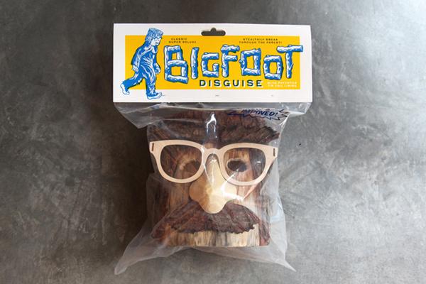 Office   NEWS   Bigfoot Inspires Tree Stump Art #packaging #bigfoot