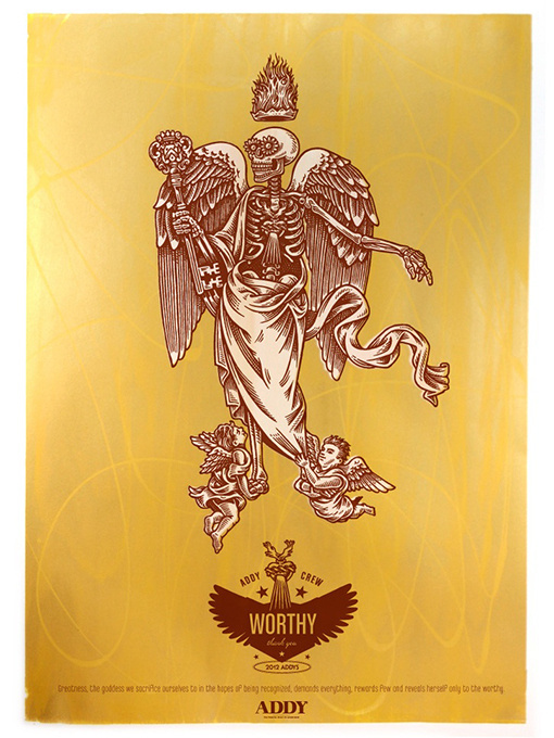 Design Work Life » cataloging inspiration daily #illustration #skeleton #angel
