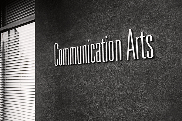 Communication Arts #letters #sign #design #typeface #exterior #signage #type
