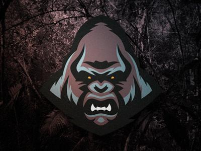 Gorilla #vector #branding #illustration #gorilla #sport