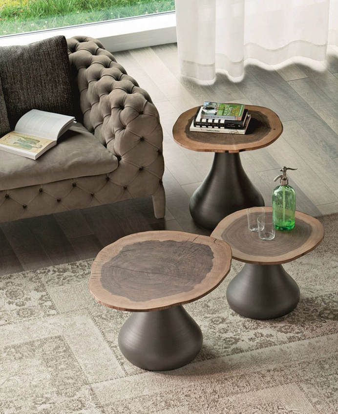 Round Coffee Table by Giorgio Cattelan