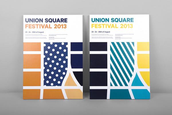 Union Square #print #design #graphic #branding
