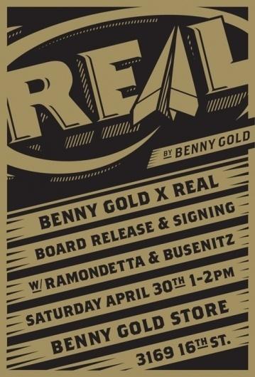 Benny Gold #flyer #design #benny #real #gold