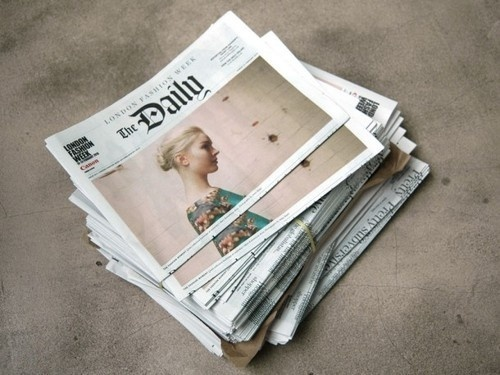 Newspaper #news #design #newspaper #editorial