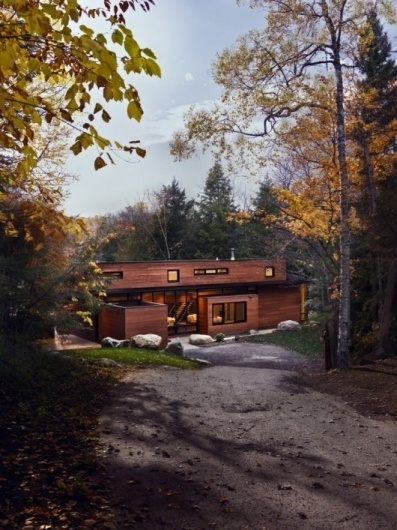 WANKEN - The Blog of Shelby White » Hurteau-Miller Cottage #kariouk #concrete #associates #wood #architecture