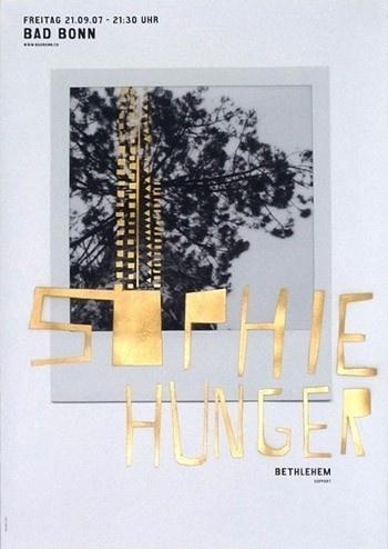 Sophie Hunger - Coboi #design #graphic #poster