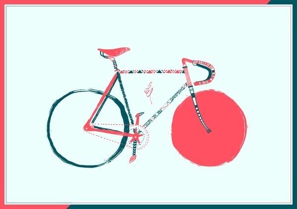 Bike #print #cards #bike