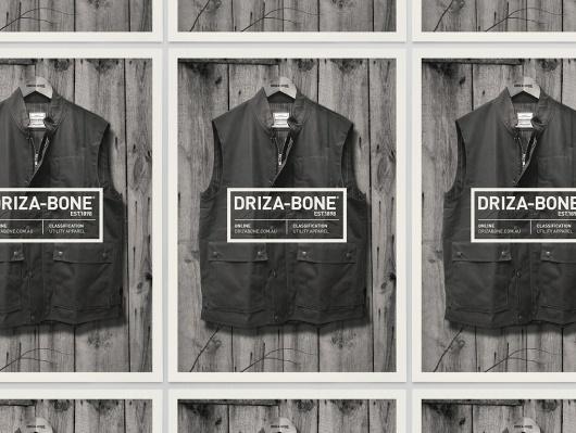 Hunt Studio — Driza–Bone Identity #driza #design #graphic #bone #identity #huntstudio
