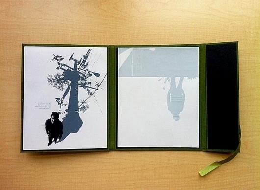 Calm: Folio Open w/Prints | Flickr - Photo Sharing! #binding #print #letterpress #book #screen #printing #letter #press