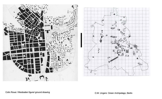 Ungers/ Rowe Comparison #urban