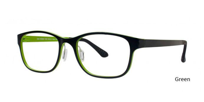 Green Vivid Eyeglasses Vivid Boutique Ultem 2002.