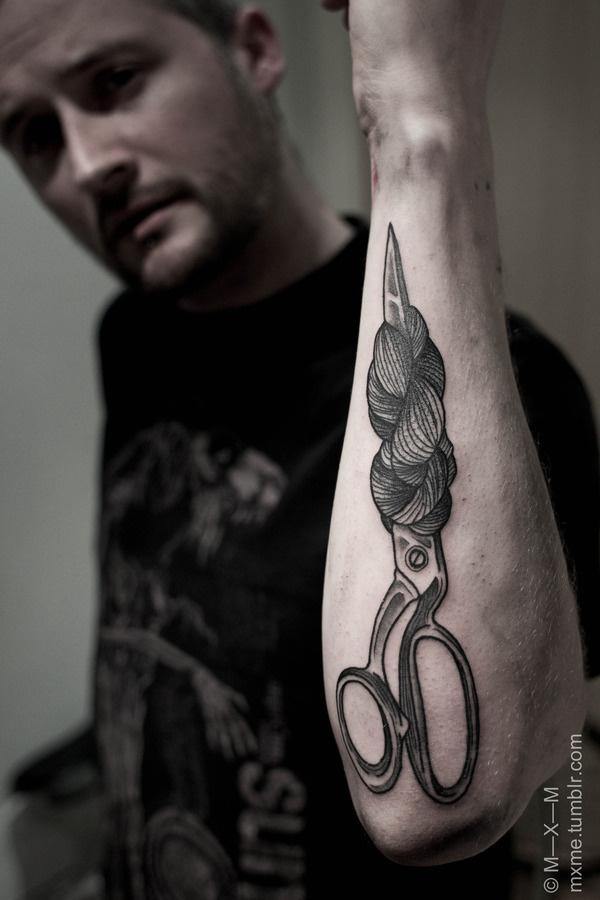 mxme tattoo #tattoo #ink #scissors #mxme