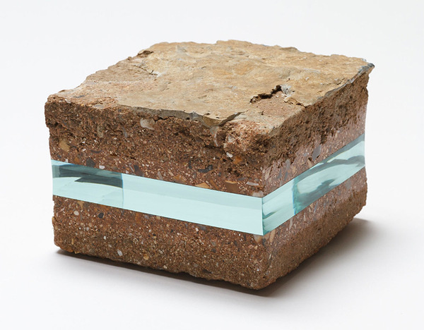 Unexpected Layers of Glass Added to Stones and Books by Ramon Todo #glass #rock #thing