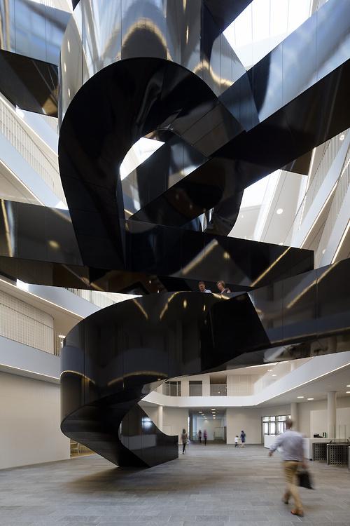 CJWHO ™ (UN City, Marmorvej 51, Copenhagen, Denmark | 3XN ...) #sun #city #design #denmark #wood #case #architecture #stair #copenhagen