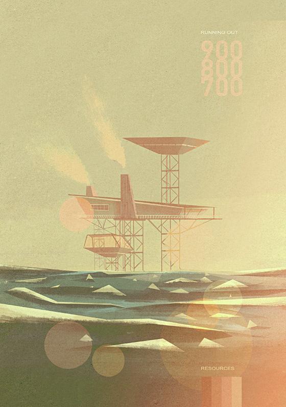 FYI Monday Matthew Lyons Sea #ocean #bokeh #sea #grain #lyons #minimalist #noise