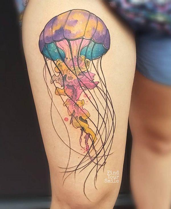 Jellyfish Tattoo Ideas