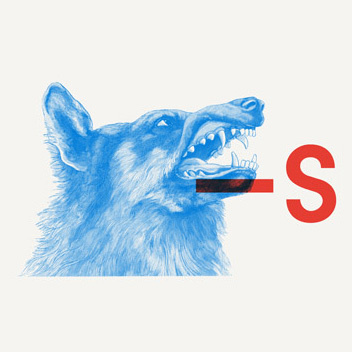Vuoden Huiput #typography #design #snarl #wolf #dog