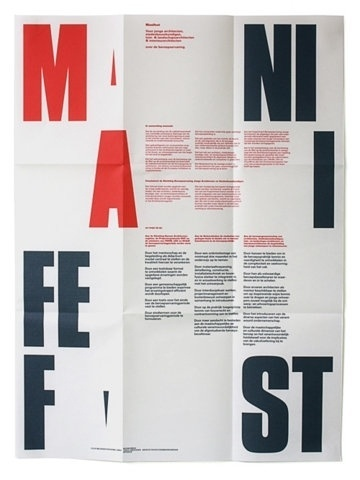 FFFFOUND! | Dark side of typography #manifesto #design #graphic #typography