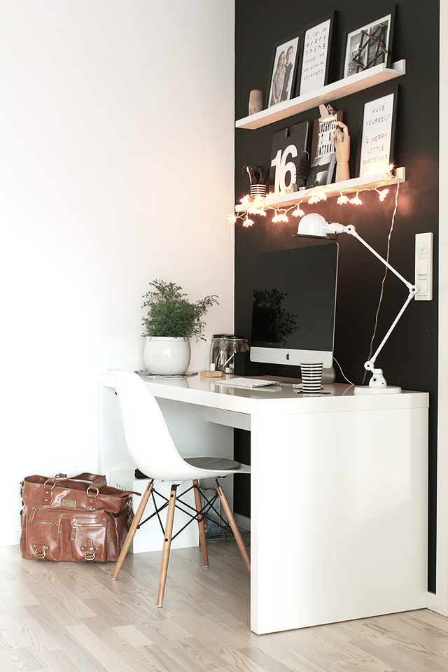 tonje boganes: it's the most wonderful time of the year #office #desk #home #workspace