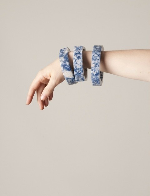Marble Bangles from JF #plz #marble