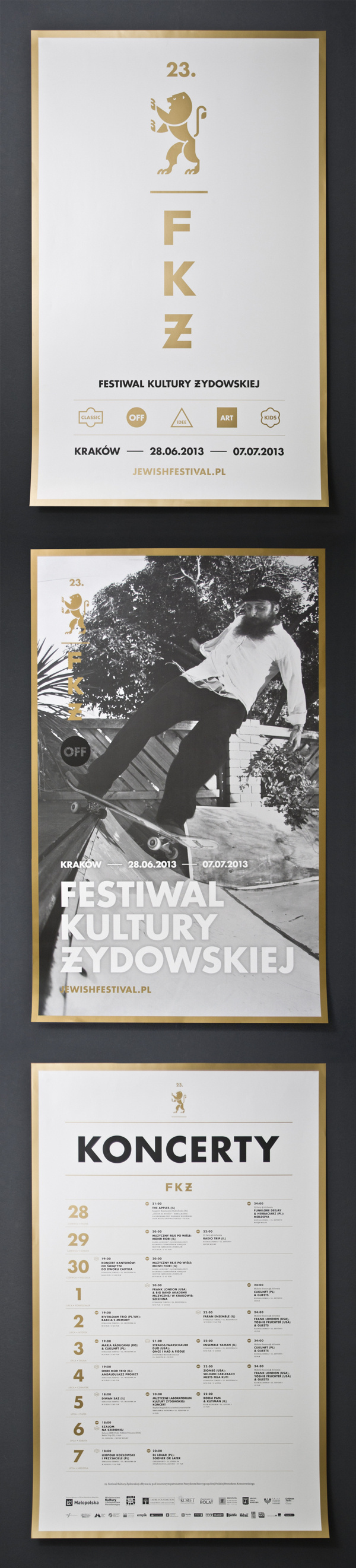- #festival #poster #typography