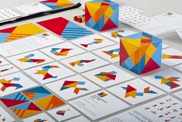 Internationale Spieltage SPIEL – Stefan Zimmermann – Kommunikationsdesign #tangram #branding #board #design #trade #corporate #fair #logo #games