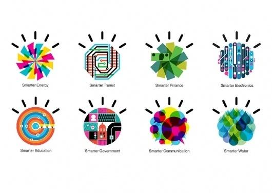 Office | Work | IBM / Designing a Smarter Planet #icon #illustration