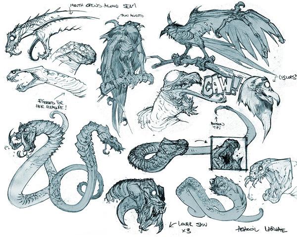 Darksiders Creatures