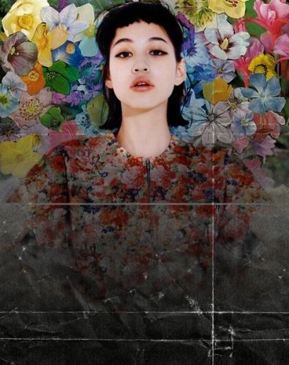 tumblr_m1voe7lG3s1rryuw3o1_500.png 500×628 pixels #montage #photomontage #floral #texture #photography #portrait #collage