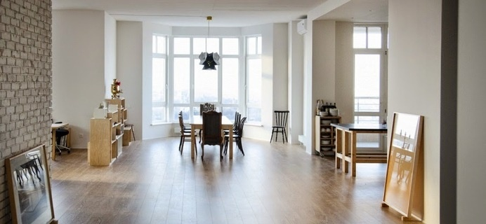 E Apartment by Slava Balbek #apartment #design #interiors