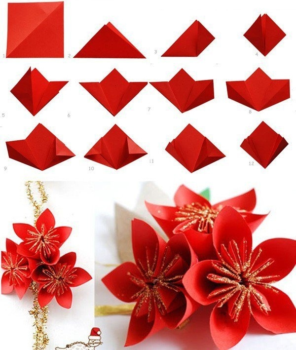 40 Origami Flowers You Can Do #origami #flowers