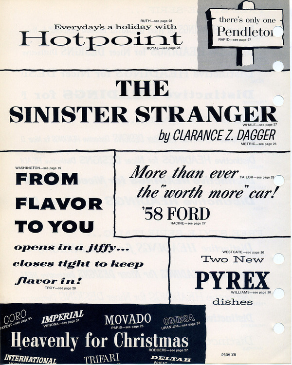Filmotype type specimen #type #specimen #filmotype