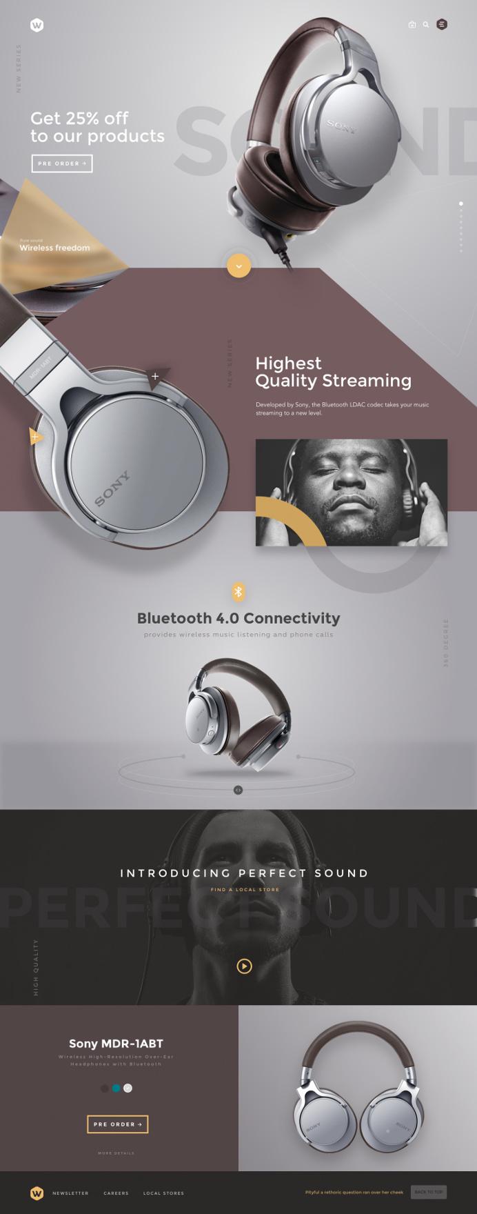 Headphones by Sencer