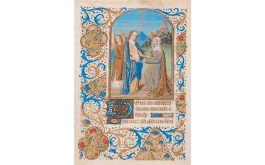 Book of hours Manuscript. Parchment (Fifteenth century).