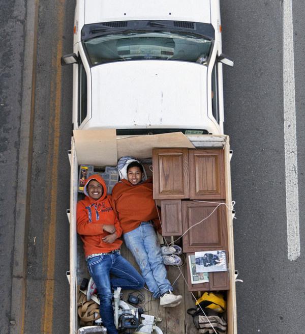 Car Poolers by Alejandro Cartagena #inspiration #creative #photography